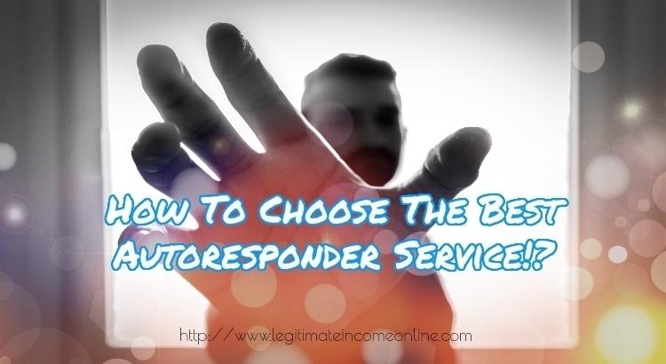Choose an Autoresponder