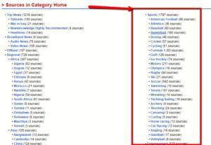 Wordpress Ping Service Lists