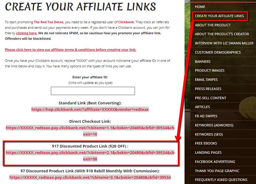 Clickbank_Create_Affiliate_links
