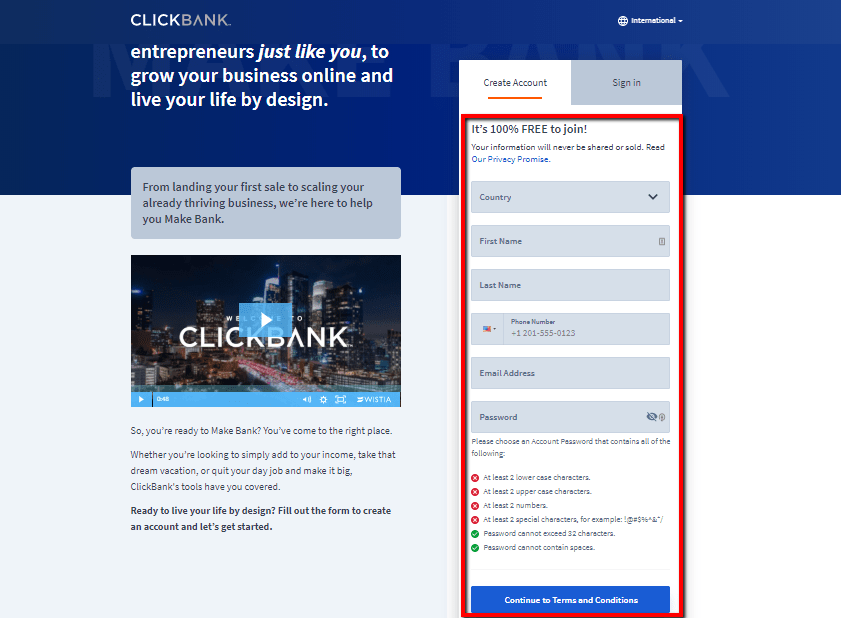 Create_A_ClickBank_Account_2020-Clickbank for beginners