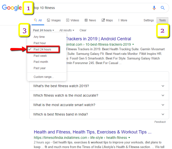 Google_Search_For_recent_Post_About_Health_or_fitness